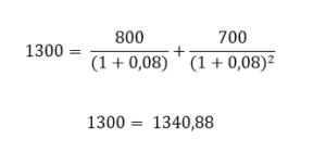 Exemplo com 8 %