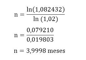cálculo do tempo de aplicação parte 5