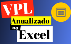 Como calcular o Valor Presente Líquido Anualizado no Excel