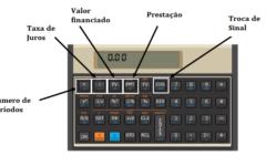 Como calcular a taxa de juros usando a HP 12C